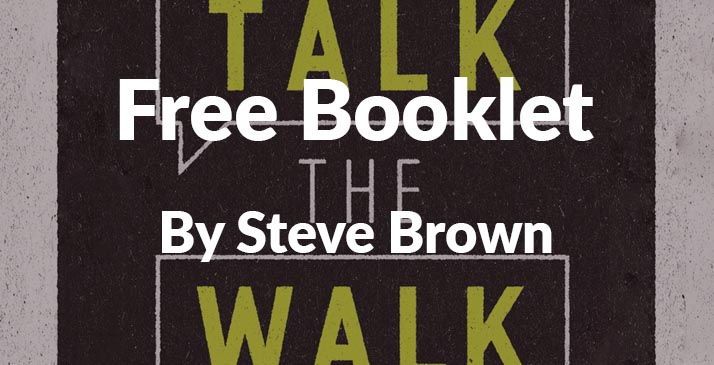 Free Talk the Walk Booklet