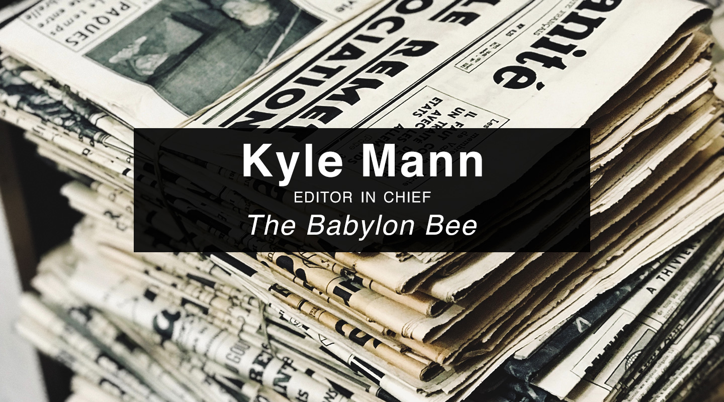 The Babylon Bee Book – Kyle Mann