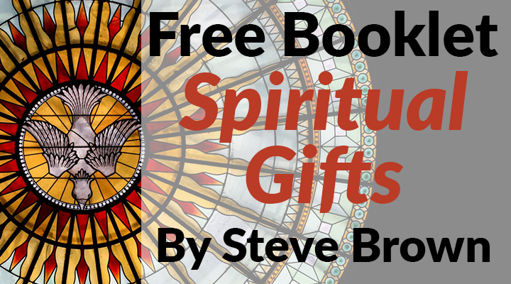 Spiritual Gifts Booklet FREE!