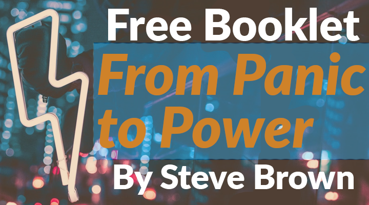 From Panic to Power Booklet FREE!