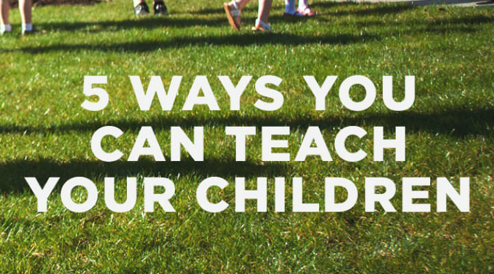5 Ways You Can Teach Your Children About Their Sexual Development