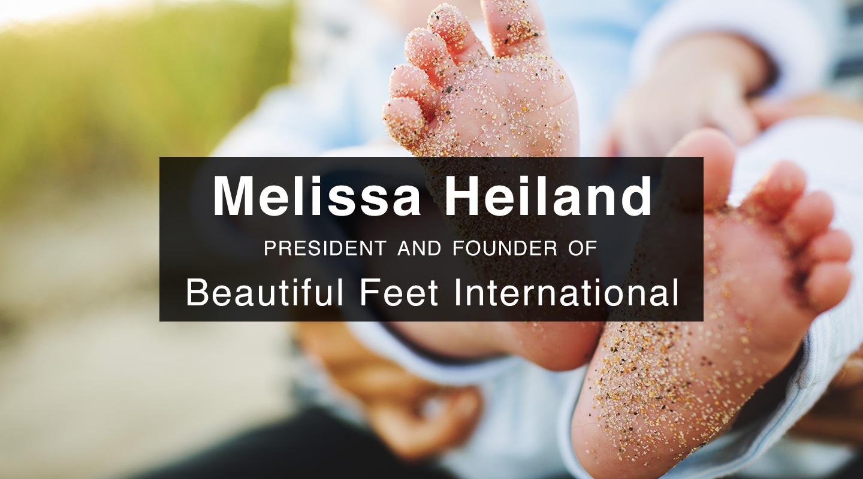 Beautiful Feet – Melissa Heiland