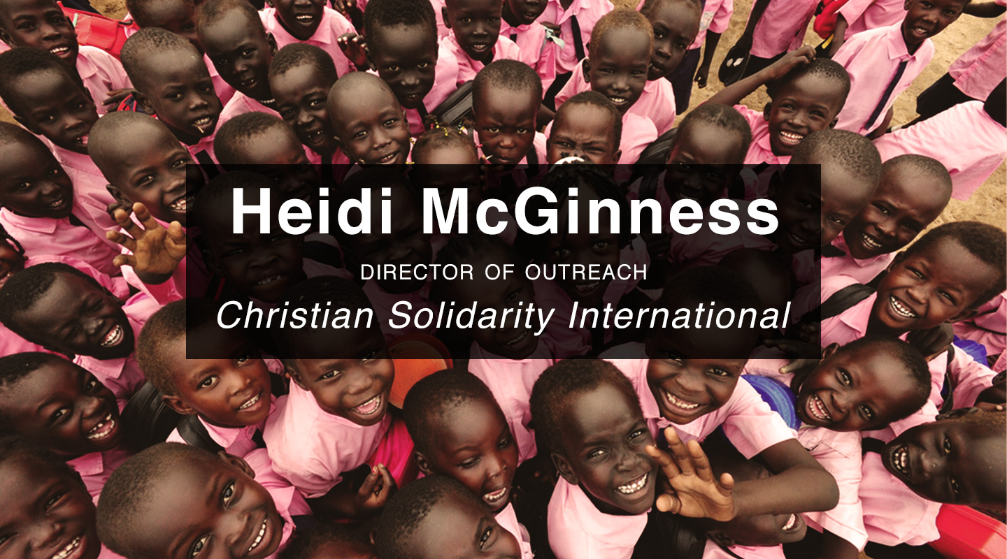Slavery in Sudan – Pastor Heidi McGinness