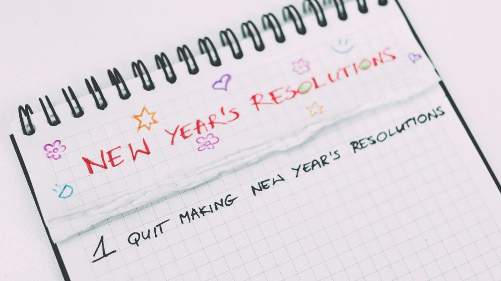 Why New Year's Resolutions Don't Work