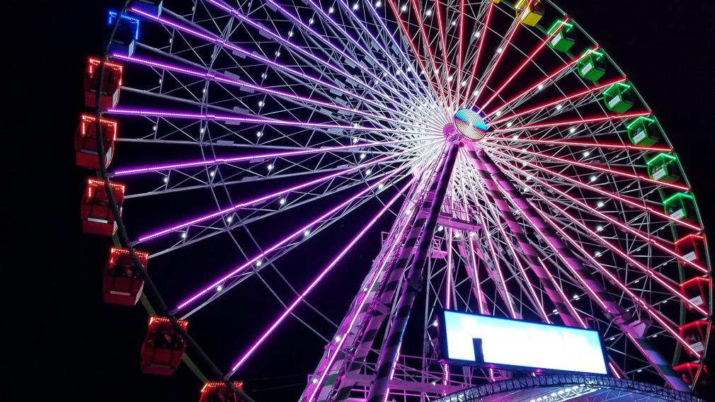 Choosing the Ferris Wheel